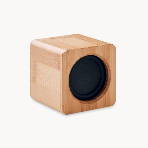 altavoz-bluetooth-cubico-carcasa-bambu