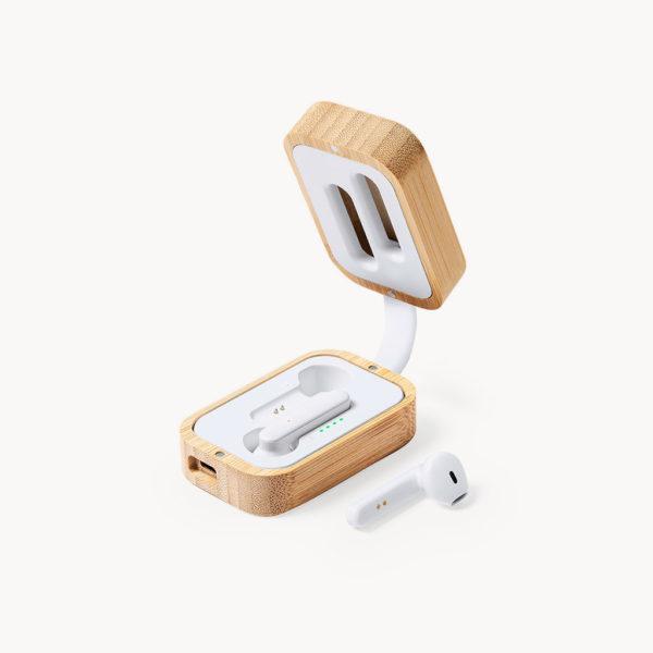 auriculares-inalambricos-caja-bambu