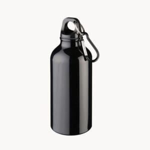 bidon-aluminio-400ml-brillante-mosqueton-negro-2