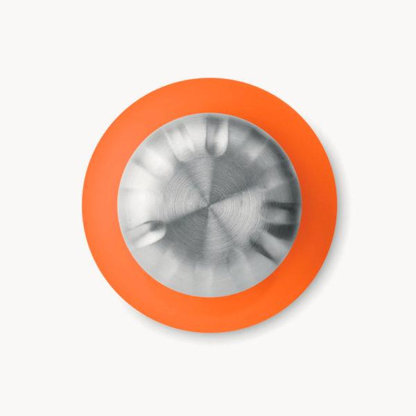 botella-cristal-tapon-acero-inoxidable-650ml-naranja-detalle