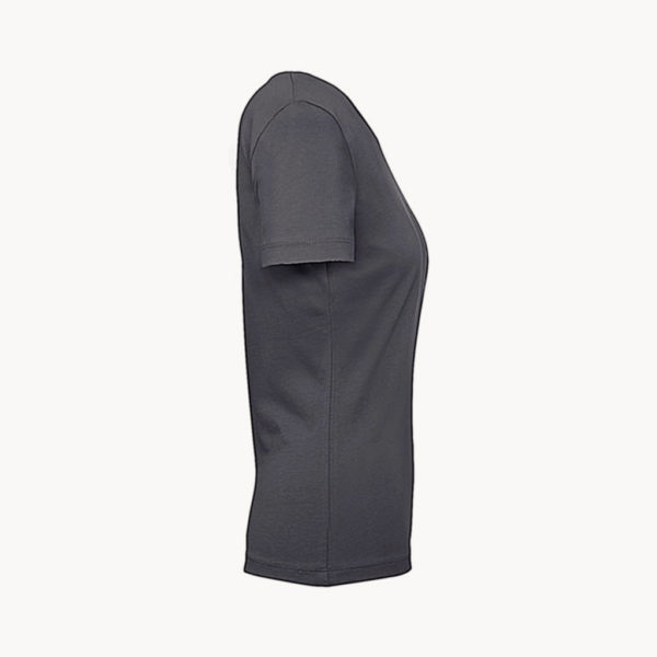 camiseta-algodon-mujer-175gr-gris-oscuro-perfil