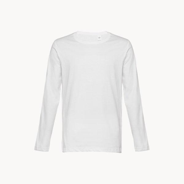 camiseta-manga-larga-blanca-algodon-hombre