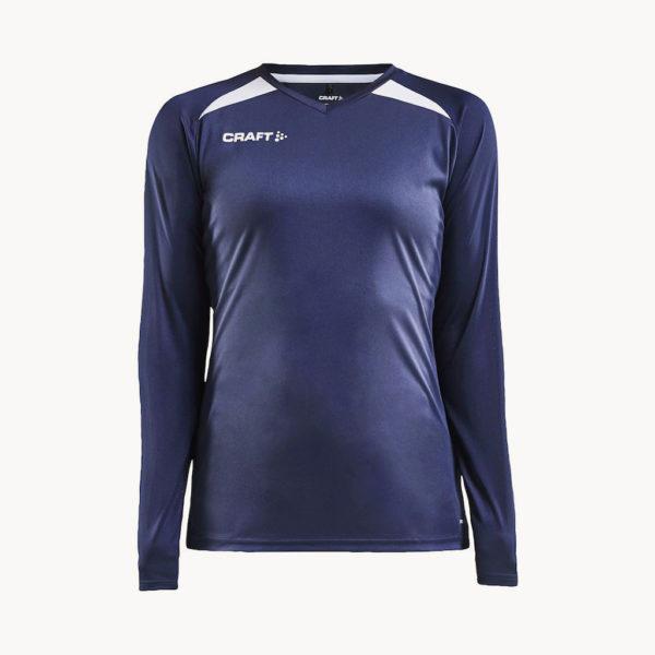 camiseta-manga-larga-deportiva-reciclada-mujer-azul-oscuro