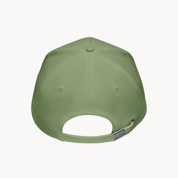 gorra-fibra-cañamo-natural-verde-back