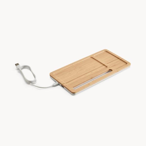 organizador-escritura-bambu-cargador-inalambrico-1
