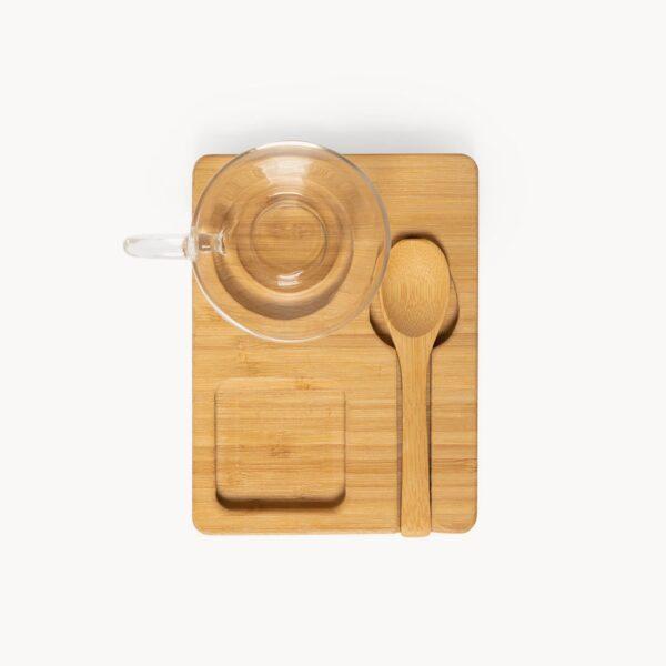 set-taza-cristal-bandeja-cuchara-bambu-1