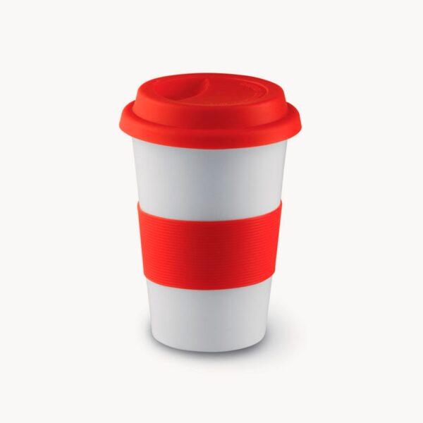 vaso-viaje-ceramica-silicona-rojo