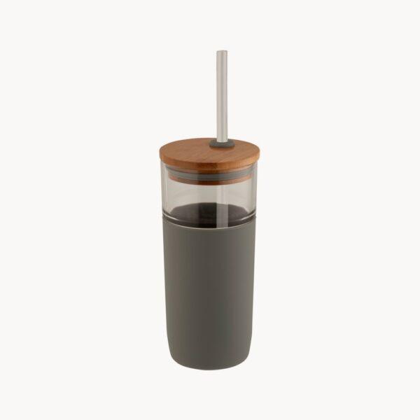 vaso-vidrio-tapa-bambu-gris