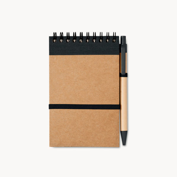 bloc-notas-boligrafo-carton-reciclado-negro-1