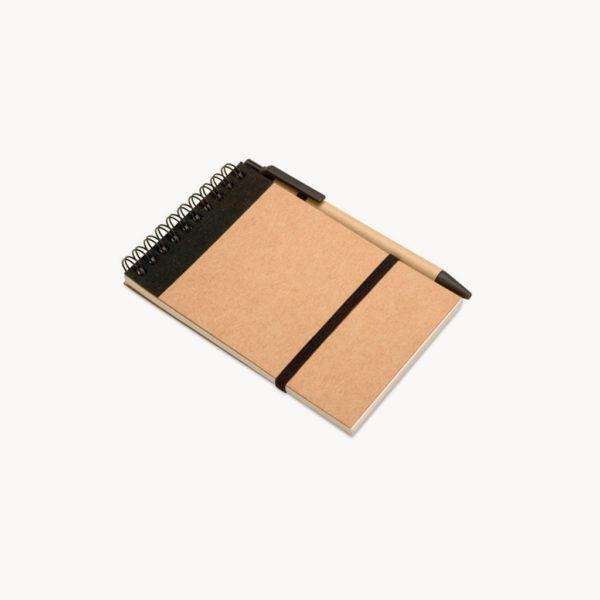 bloc-notas-boligrafo-carton-reciclado-negro