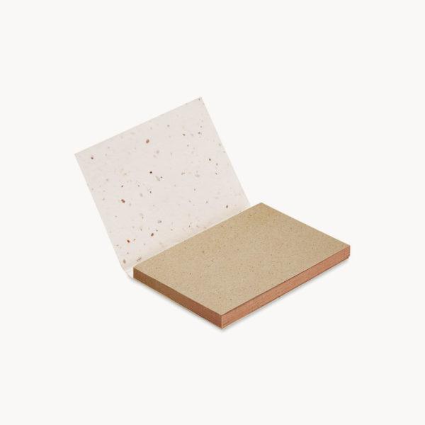 bloc-notas-papel-hierba-semillas-hojas