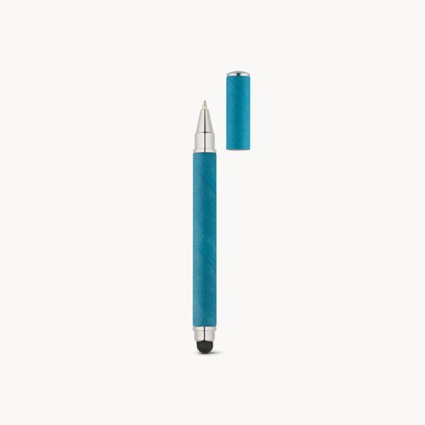 boligrafo-puntero-papel-kraft-azul-detalle
