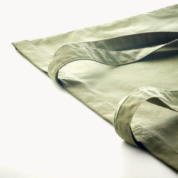 bolsa-algodon-organico-140gr-colores-verde-detalle
