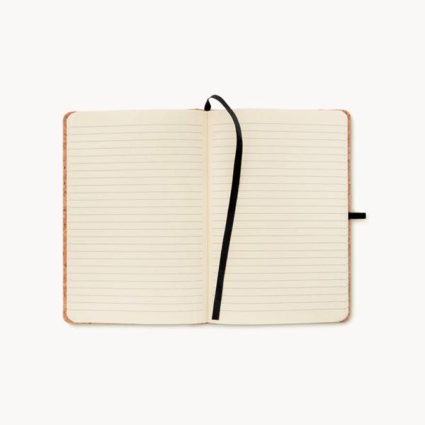 cuaderno-a5-corcho-separador-goma-cierre-abierto