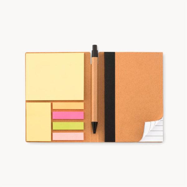 cuaderno-reciclado-notas-adhesivas-boligrafo-carton-interior