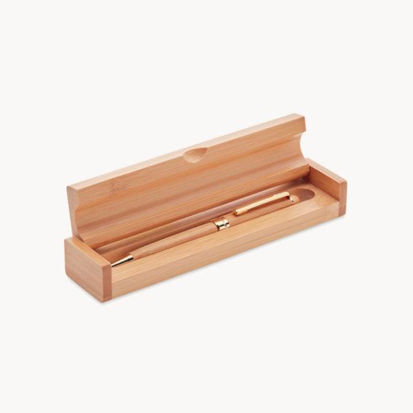 estuche-madera-boligrafo-giratorio-bambu
