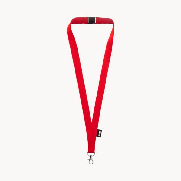lanyard-plastico-reciclado-cierre-seguridad-rojo