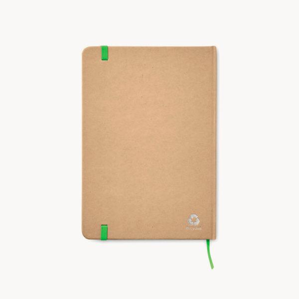 libreta-carton-reciclado-marcapaginas-verde-back