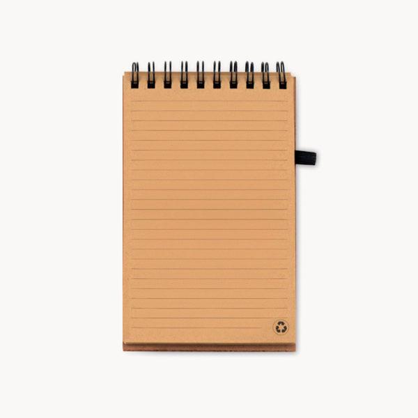 libreta-papel-reciclado-corcho-boligrafo-sostenible-interior-1