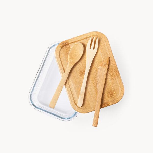 set-tupper-cristal-madera-cubiertos-1