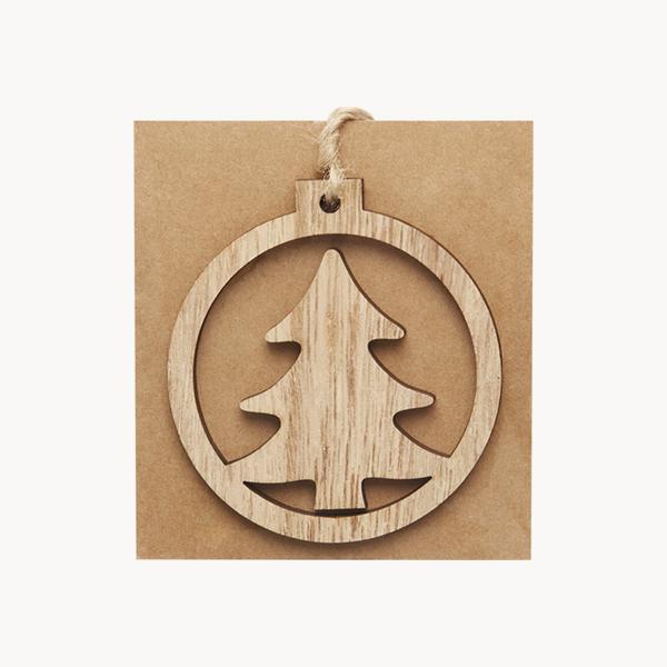 adorno-madera-abeto-circular-colgar-tarjeta-kraft