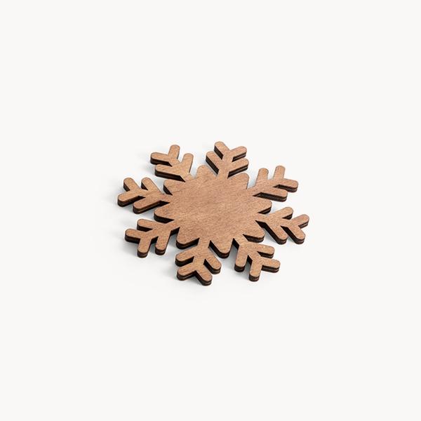 pack-posavasos-madera-forma-copo-nieve