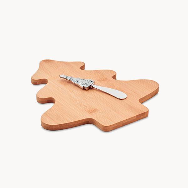 set-navidad-tabla-bambu-cuchillo
