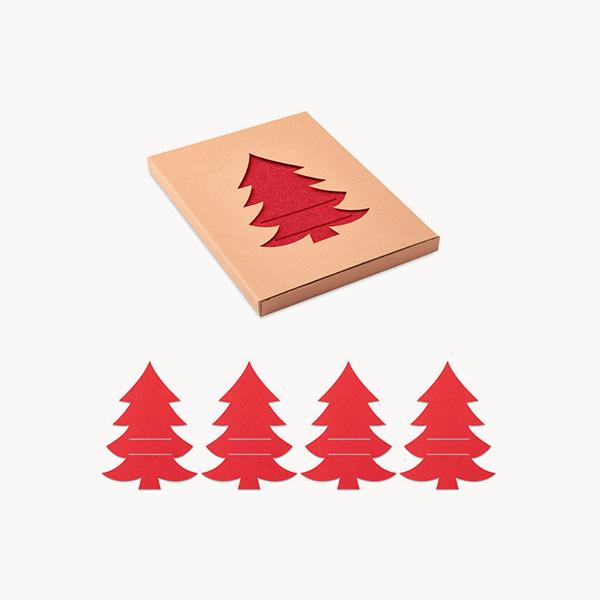 set-portacubiertos-navideño-fieltro-rpet-rojo